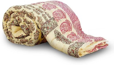 Little India Floral Double Quilts & Comforters Red