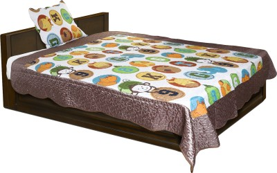 Baby Oodles Cartoon Single Blanket Multicolor