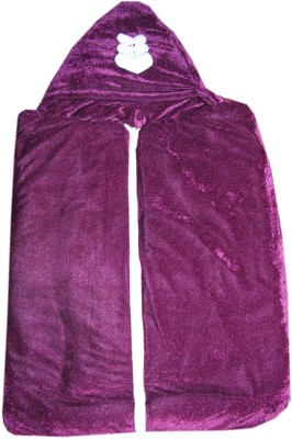Prayag Plain Single Baby Sleep Sack Purple