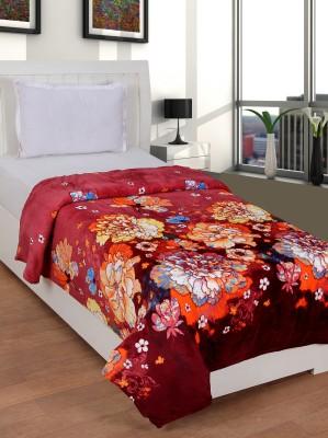 NIRWANA Floral Single Blanket Multicolor