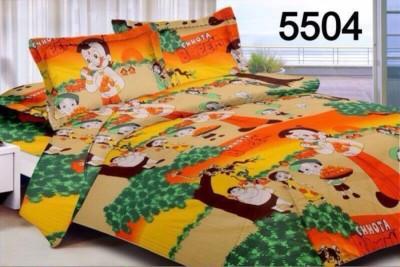 Stylla Shoppers Cartoon Double Dohar Multicolor