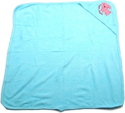Ahad Plain Single Blanket Clear Water