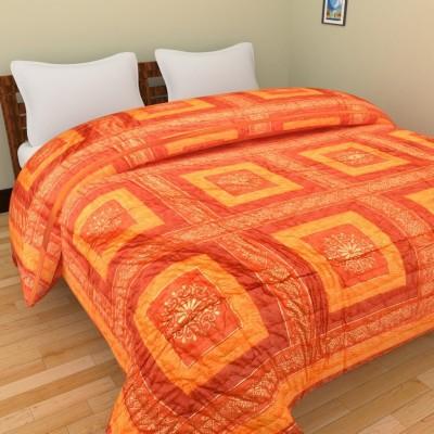 GRJ India Geometric Single Quilts & Comforters Multicolor