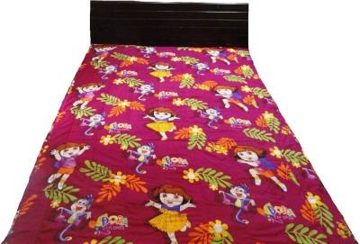 Amk Cartoon Single Quilts & Comforters Multicolor
