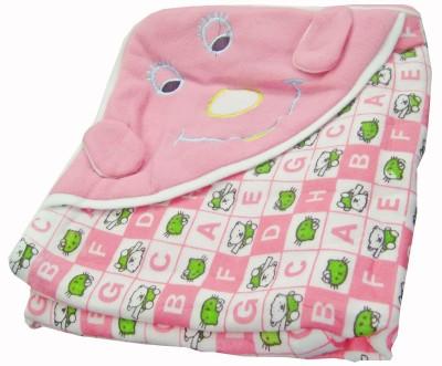 Baby Basics Cartoon Single Blanket Pink