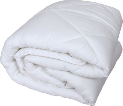 IndiStar Floral Single Quilts & Comforters White