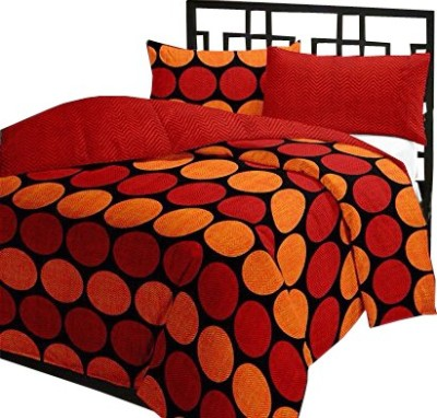 Renown Polka Single Blanket Red