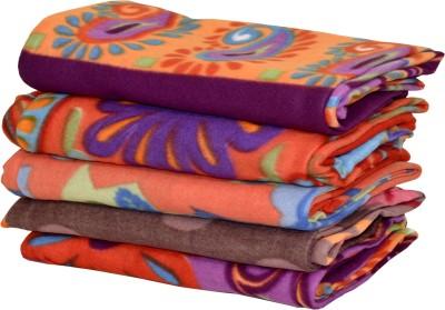 Peponi Floral Single Blanket Multicolor