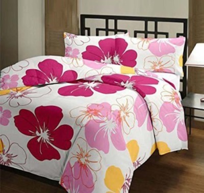 GLOW Floral Single Quilts & Comforters Pink