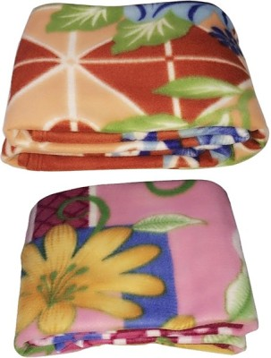 Galaxy Floral Single Blanket Multi Colour