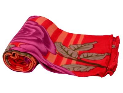 Light Gear Floral Double Blanket Multicolor
