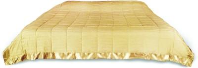 KIAANA USA Striped Single Quilts & Comforters Ivory