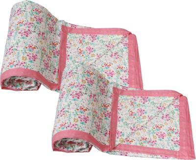 IndiStar Floral Single Dohar Pink