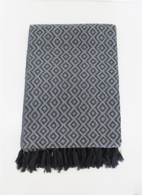 Tezerac Geometric Single Throw Grey