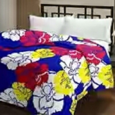 Nirmal Impex Floral Single Dohar Multicolour