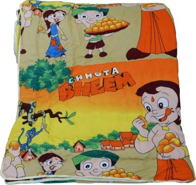 Deals For Bulk Cartoon Single Quilts & Comforters Yellow