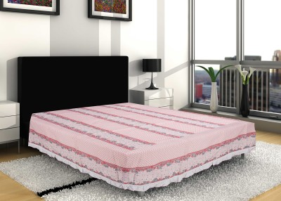 Sangreh Floral Single Quilts & Comforters White, Pink