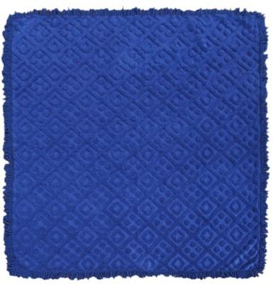 Saral Home Geometric Double Throw Blue