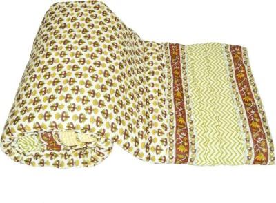 Shopper Space Floral Single Quilts & Comforters Multicolor