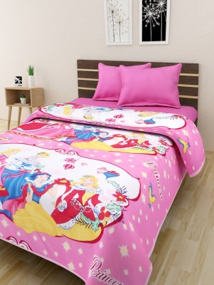 The Home Story Cartoon Single Quilts & Comforters Multicolor