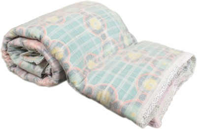 My Little Lambs Geometric Single Quilts & Comforters Multicolor