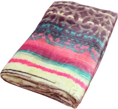 Autre Allure Abstract Double Blanket Multicolor