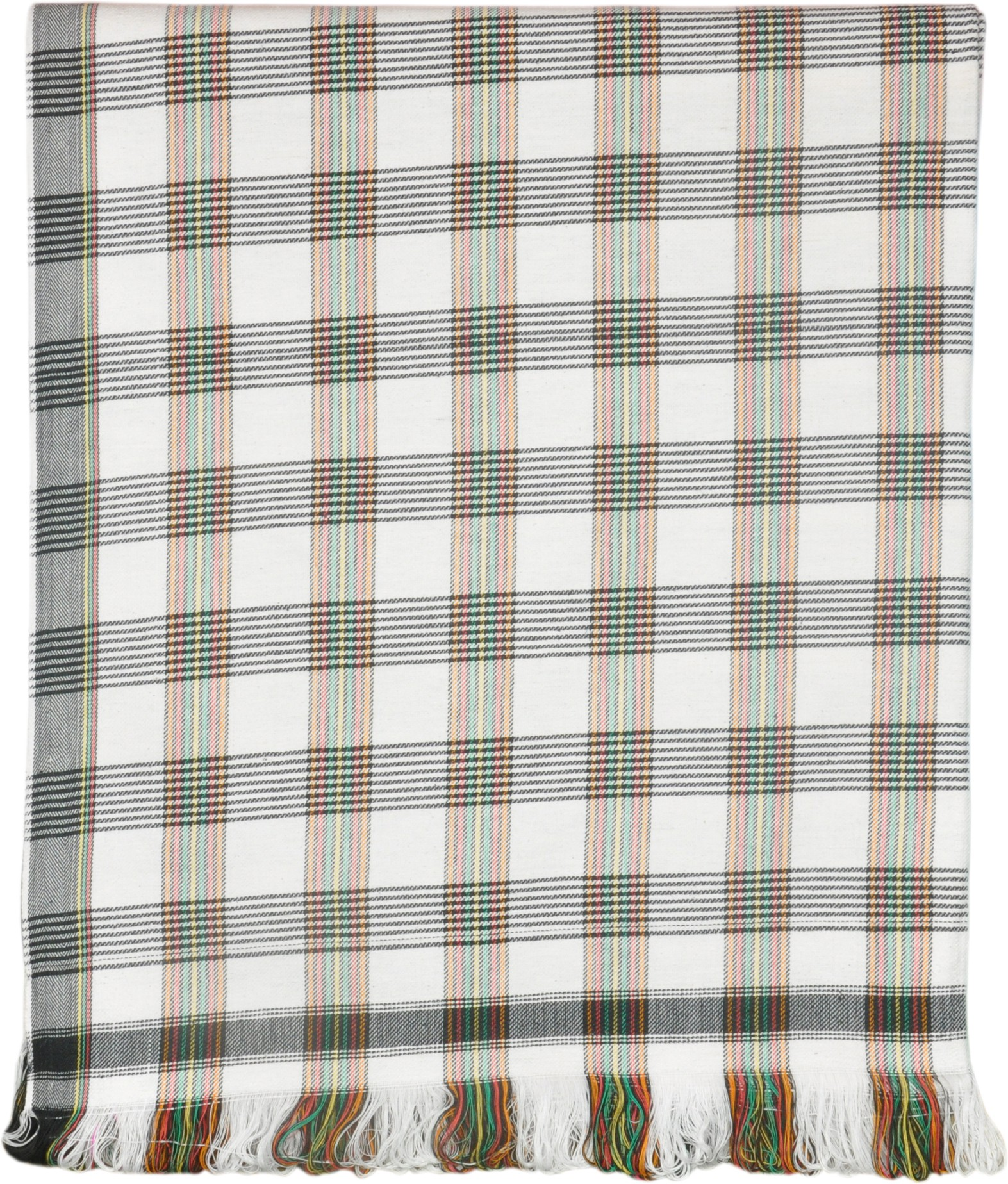 Jass Home Decor Checkered Single Blanket White