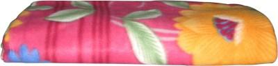 Saksham Abstract Single Blanket Multicolor