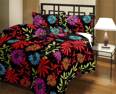 Factorywala Floral Single Blanket Red