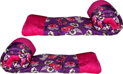 Glitter Floral Single Quilts & Comforters Multicolor