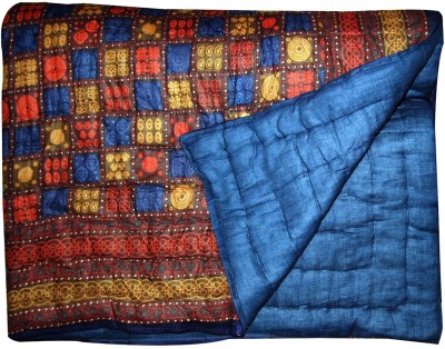 Stylla Shoppers Self Design Single Quilts & Comforters Multicolor