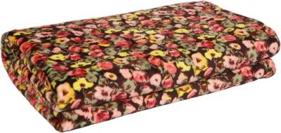 Gujattire Floral Double Blanket Multicolor