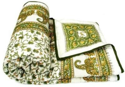 N decor Floral Double Quilts & Comforters Multicolor