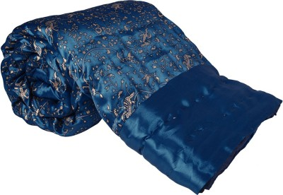 Jaipur Printex Abstract Single Quilts & Comforters Blue
