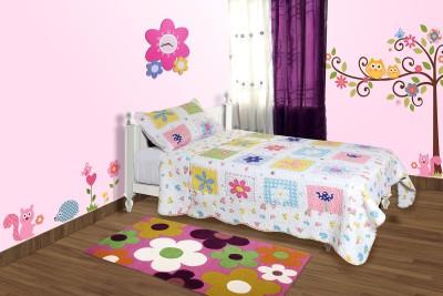 Baby Oodles Floral Single Blanket Multicolor
