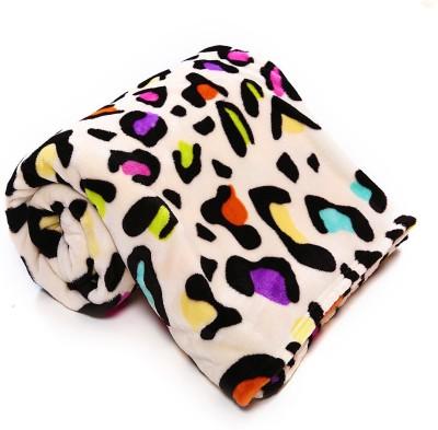 Casa Confort Abstract Single Blanket Multicolor