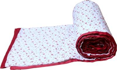 Aransa Floral Single Dohar Red