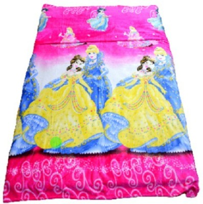 Portia Cartoon Single Blanket Pink, Yellow