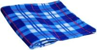 Divine Checkered Single Blanket Multicolor(Fleece Blanket, 1 Fleece Blanket)