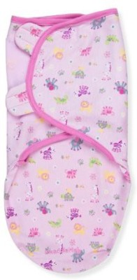 Summer Infant, Inc. Cartoon Crib Swadding Baby Blanket Pink
