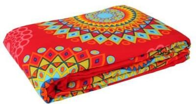 Gujattire Printed Double Dohar Multicolor
