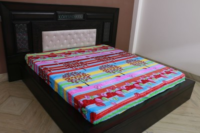 Shopcrats Floral Double Blanket Multicolour