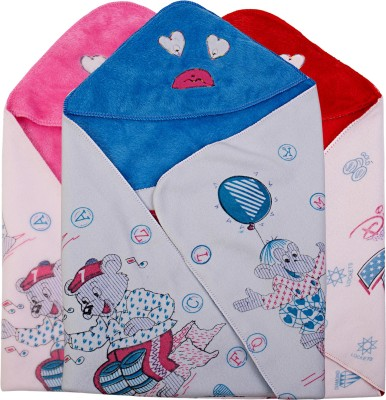 Utc Garments Cartoon Single Blanket Blue, Pink, Red, White