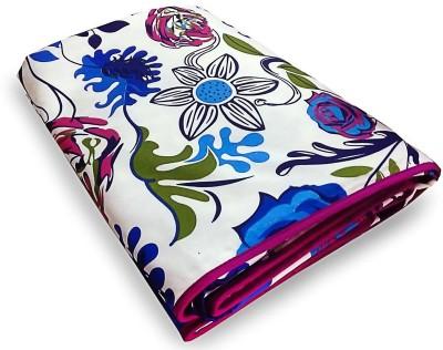 Shree balaji impex Floral Single Blanket multi colour