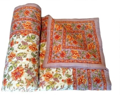 Style and Fashion Floral Single Quilts & Comforters Multicolor