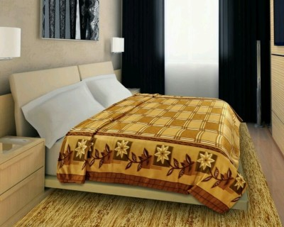 Feathers Abstract Queen Blanket Multicolor