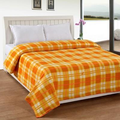 Divine Checkered Single Blanket Multicolor
