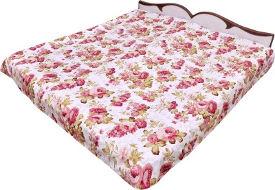 Animated&Florals Printed Double Dohar multicolour