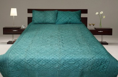 Sriam Floral Single Quilts & Comforters Blue