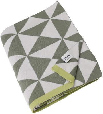 Pluchi Geometric Single Throw Sage / Rice / Border Medium Green
